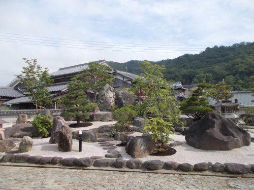 庭園の改造