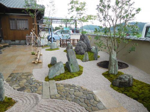 造園工事 新和風の庭