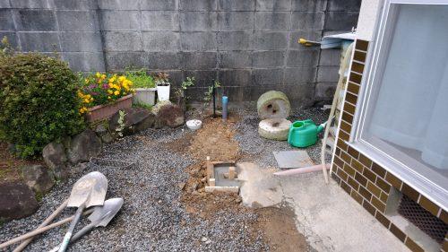 加西市 お庭の改造